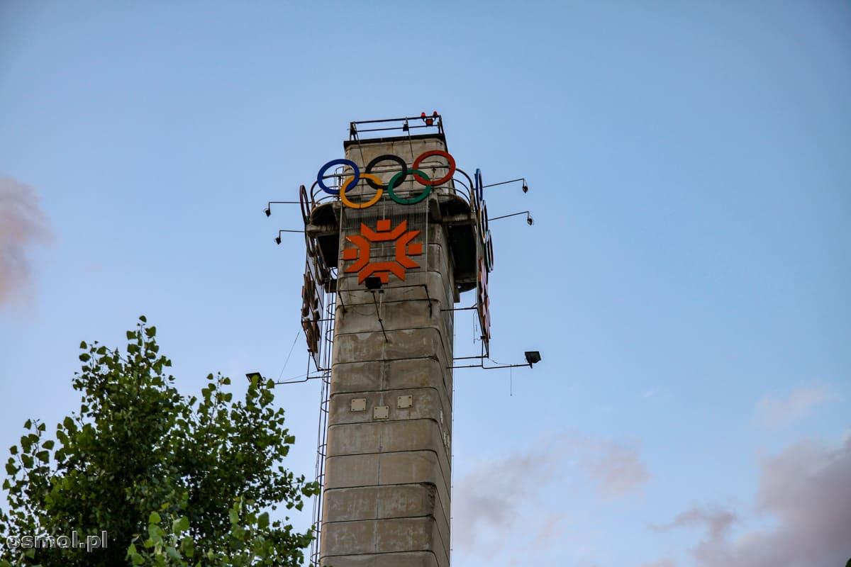 Wieża olimpijska w Sarajewie