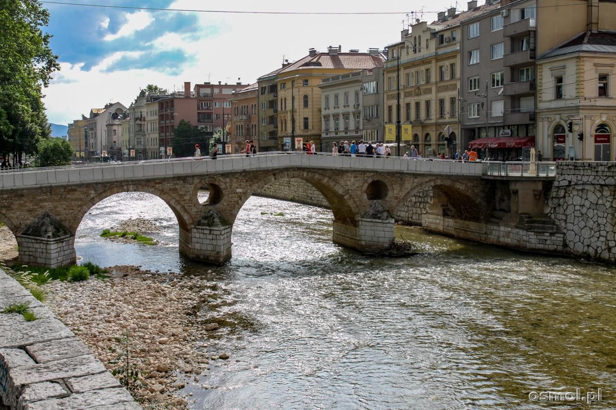 Most Łaciński w Sarajewie. Tu dokonano zamachu na arcyksięcia Ferdynanda