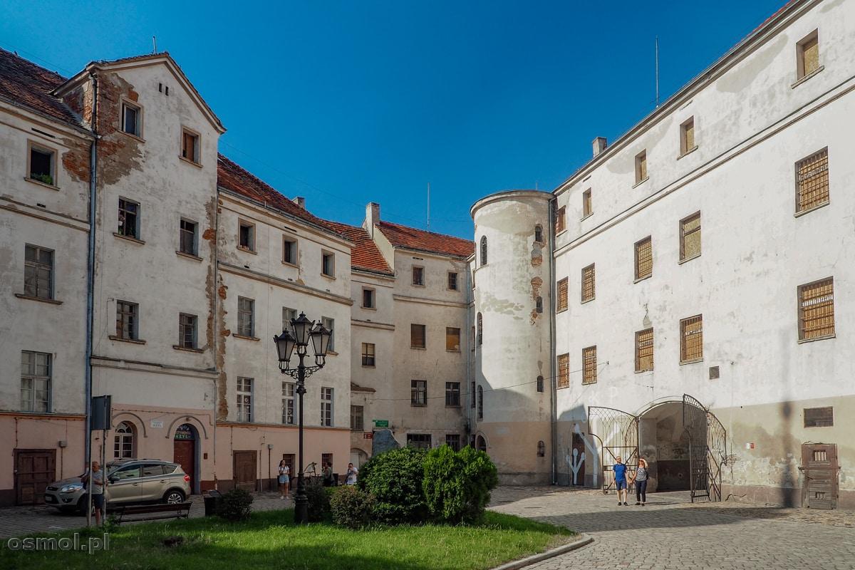 Dziedziniec Zamku Piastów Śląskich w Jaworze
