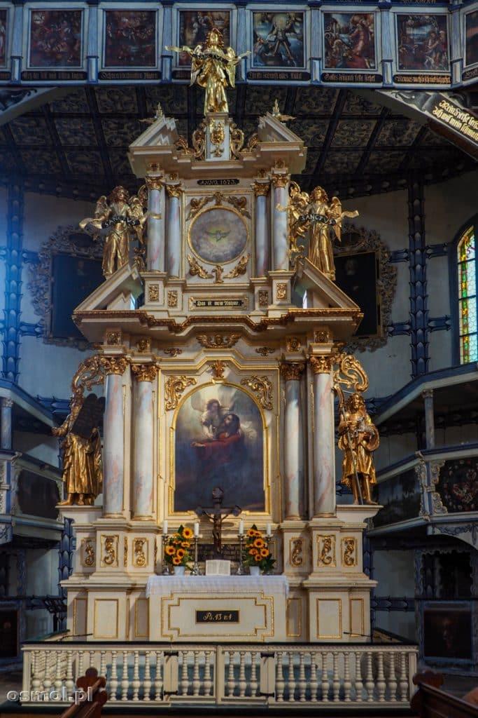 Ołtarz w Kościele Pokoju w Jaworze
