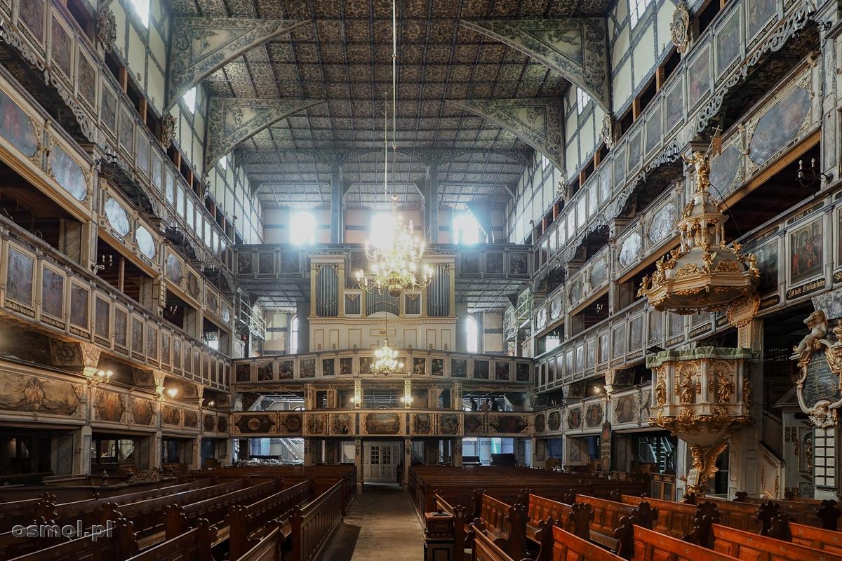 Kościół Pokoju w Jaworze - wnętrze świątyni