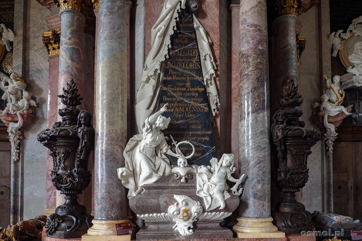 Epitafium Piastów w Mauzoleum Piastów w Krzeszowie