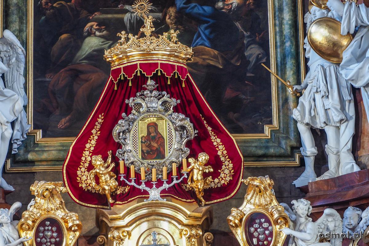 Cudowny obraz Matki Boskiej z bazyliki w Krzeszowie