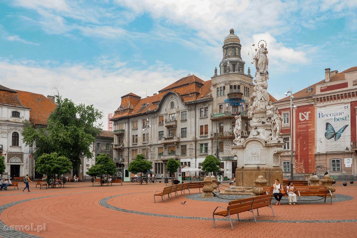 Plac Wolności w Timisoarze