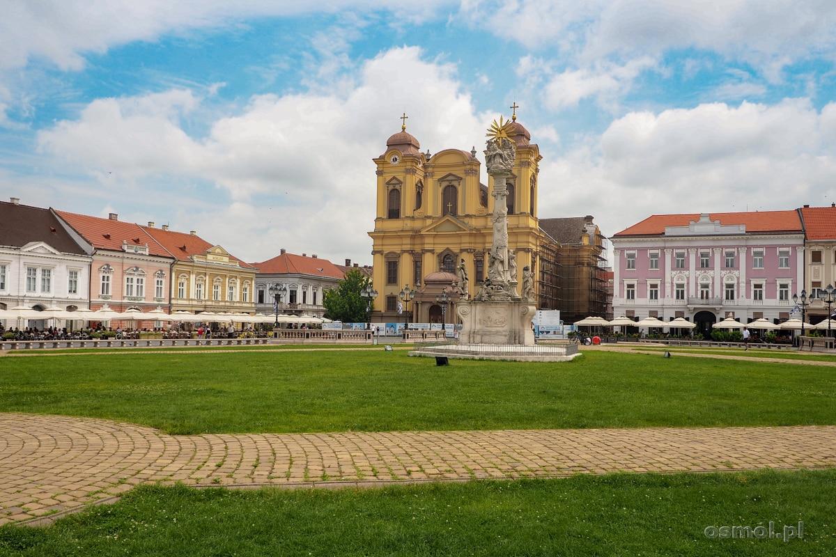 Plac Unii w Timisoarze