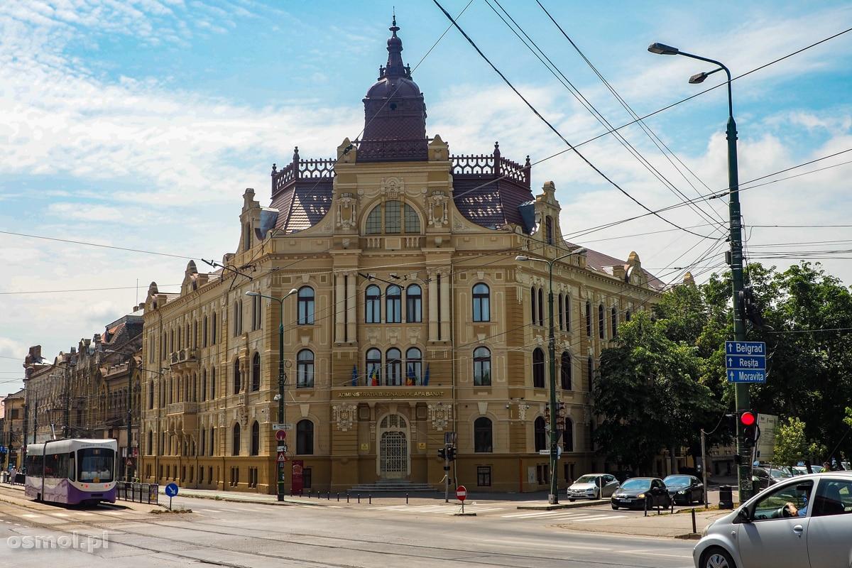 Pałac Wodny. Piękny secesyjny budynek w Timisoarze
