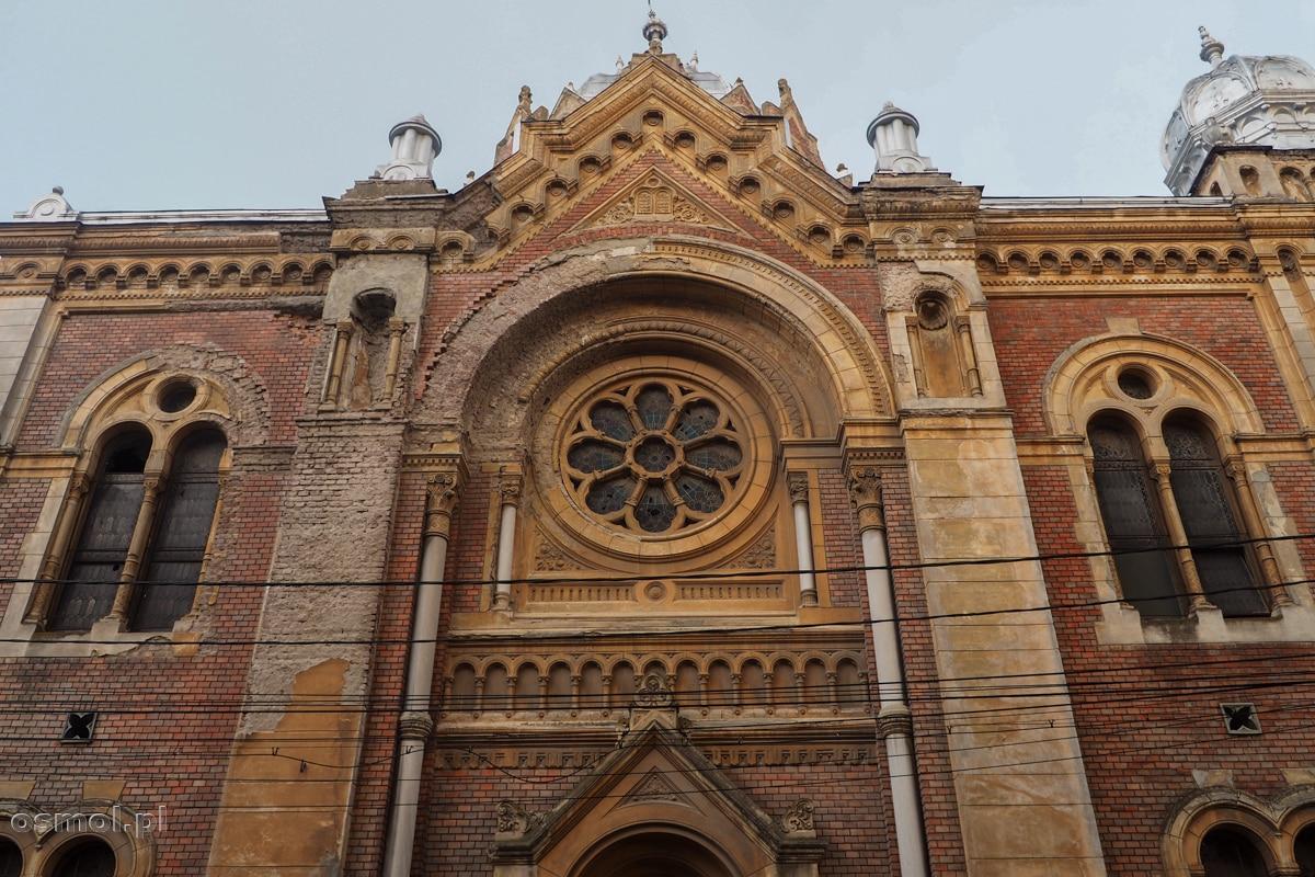 Nowa Synagoga w Timisoarze niestety coraz bardziej niszczeje