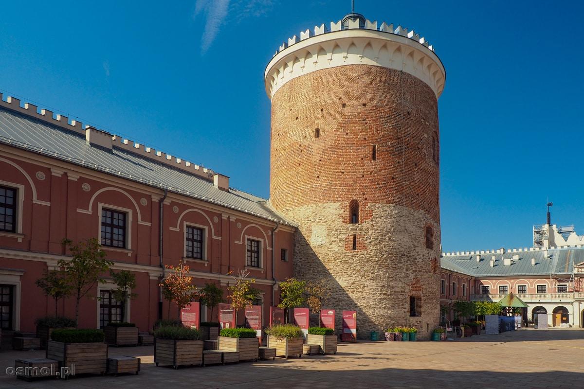 Donżon - baszta ostatniej obrony na zamku w Lublinie