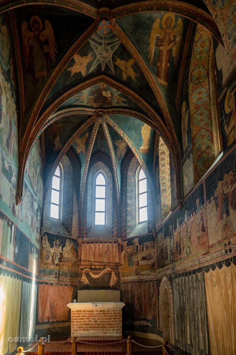 Prezbiterium w Kaplicy Trójcy Świętej na lubelskim zamku
