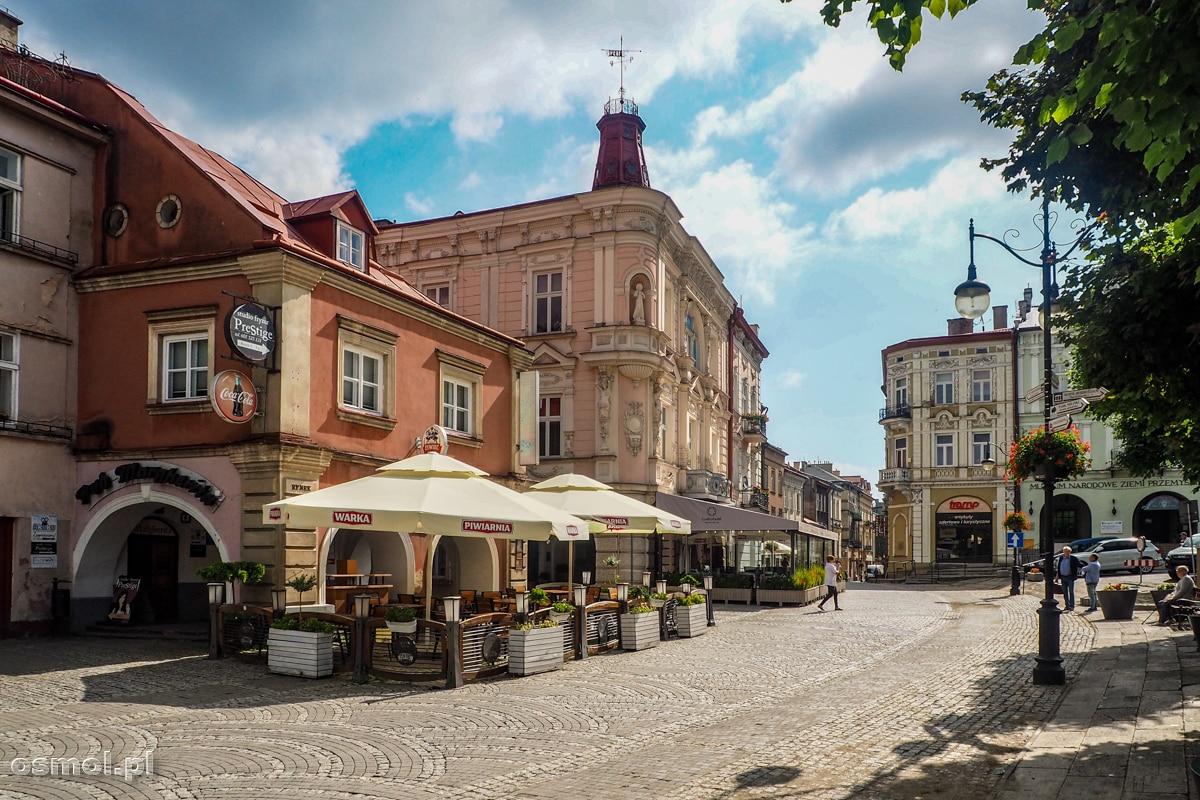 Kamieniczki na Rynku w Przemyślu