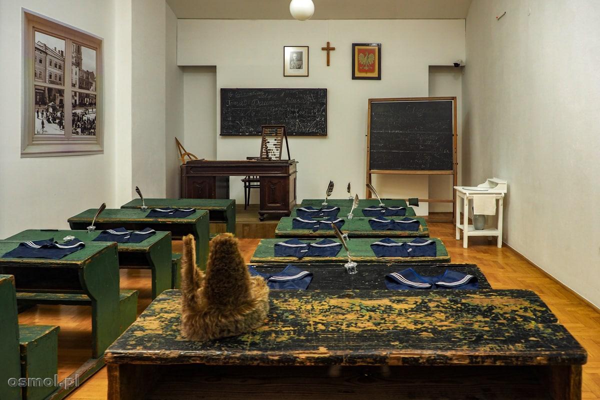 Muzeum Ziemi Przemyskiej i rekonstrukcja starej sali lekcyjnej