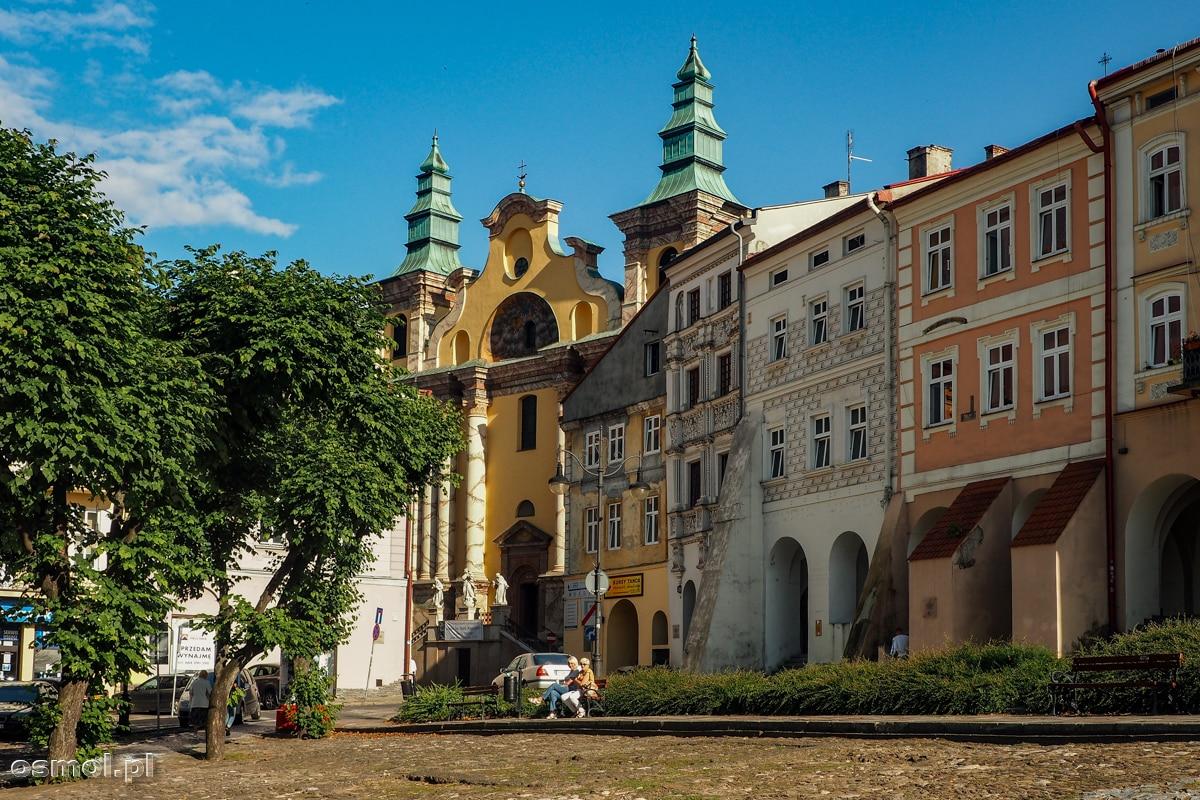 Kamienice i Rynek w Przemyślu