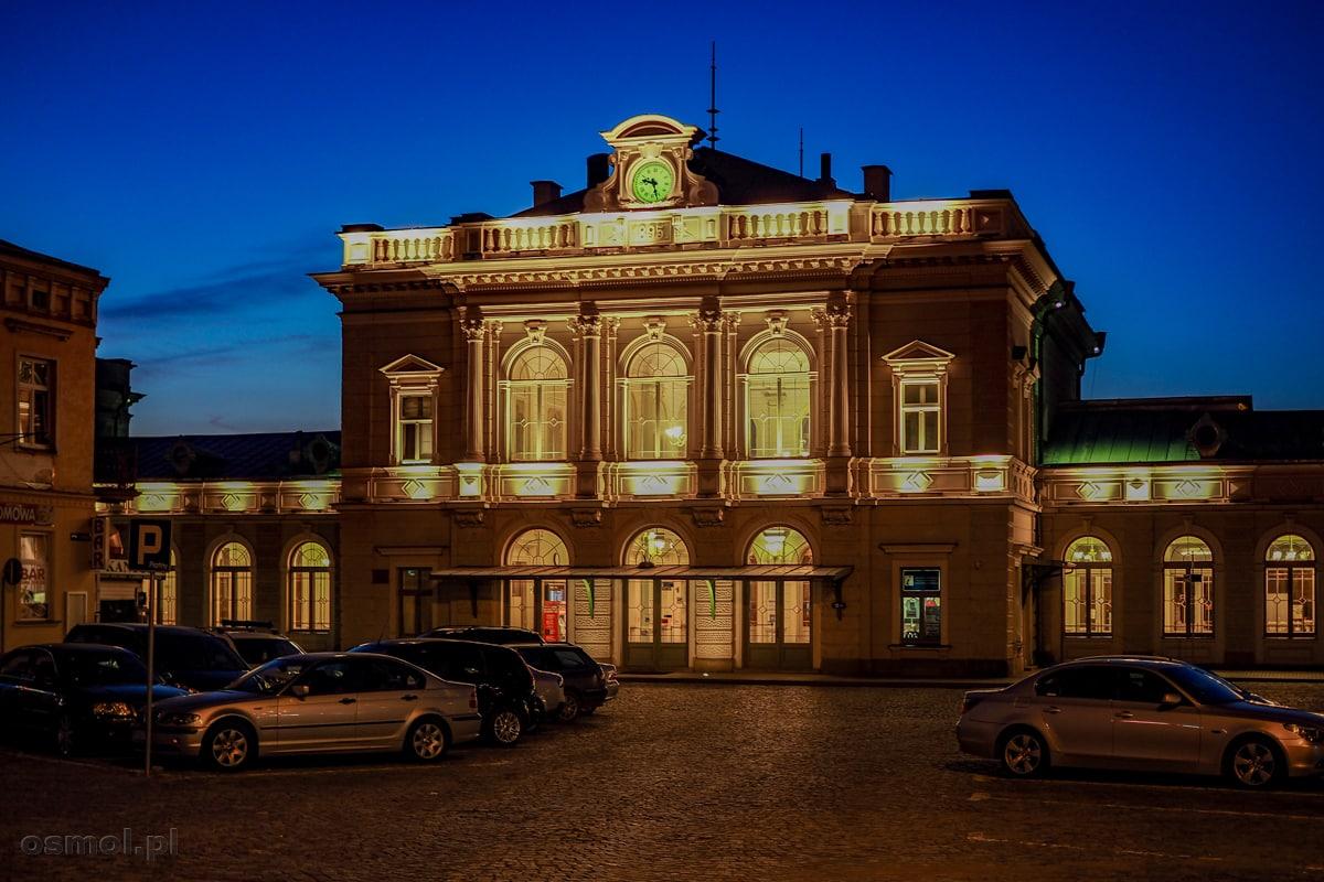 Dworzec PKP w Przemyślu. Chyba najpiękniejszy dworzec kolejowy w Polsce