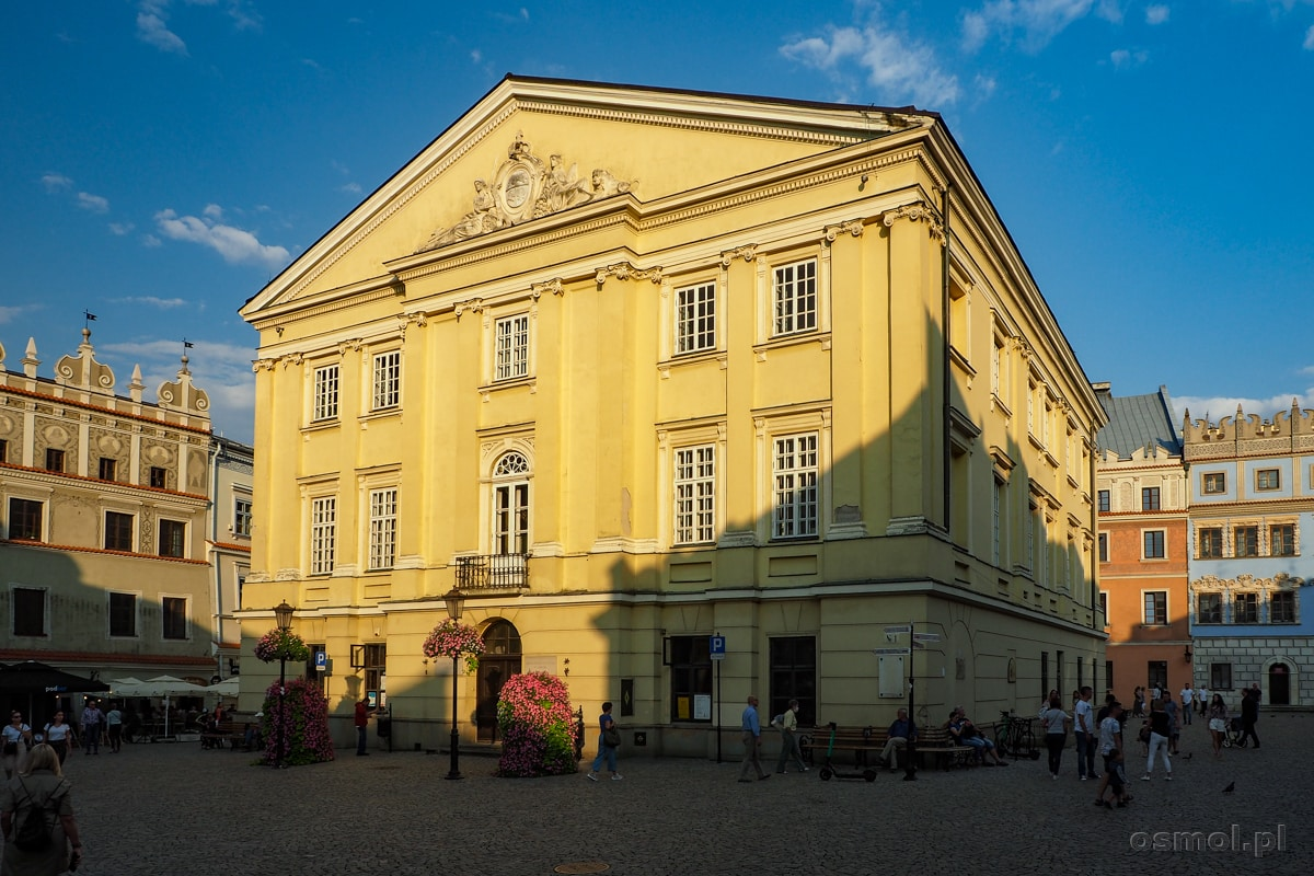 Trybunał Koronny czyli Stary Ratusz w Lublinie. To jest to miejsce, do którego zajechali czarci, by wydać wyrok sprawiedliwszy niż przekupni sędziowie.