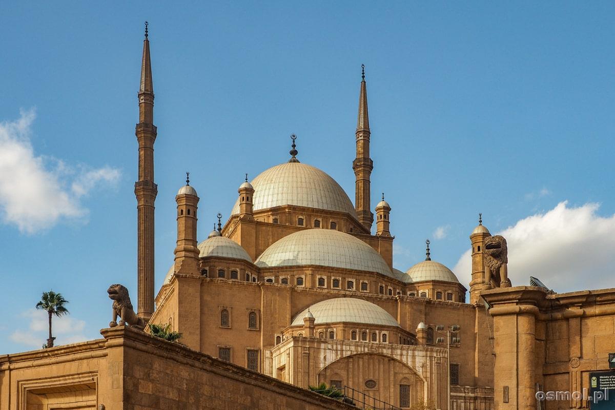Meczet na terenie Cytadeli w Kairze