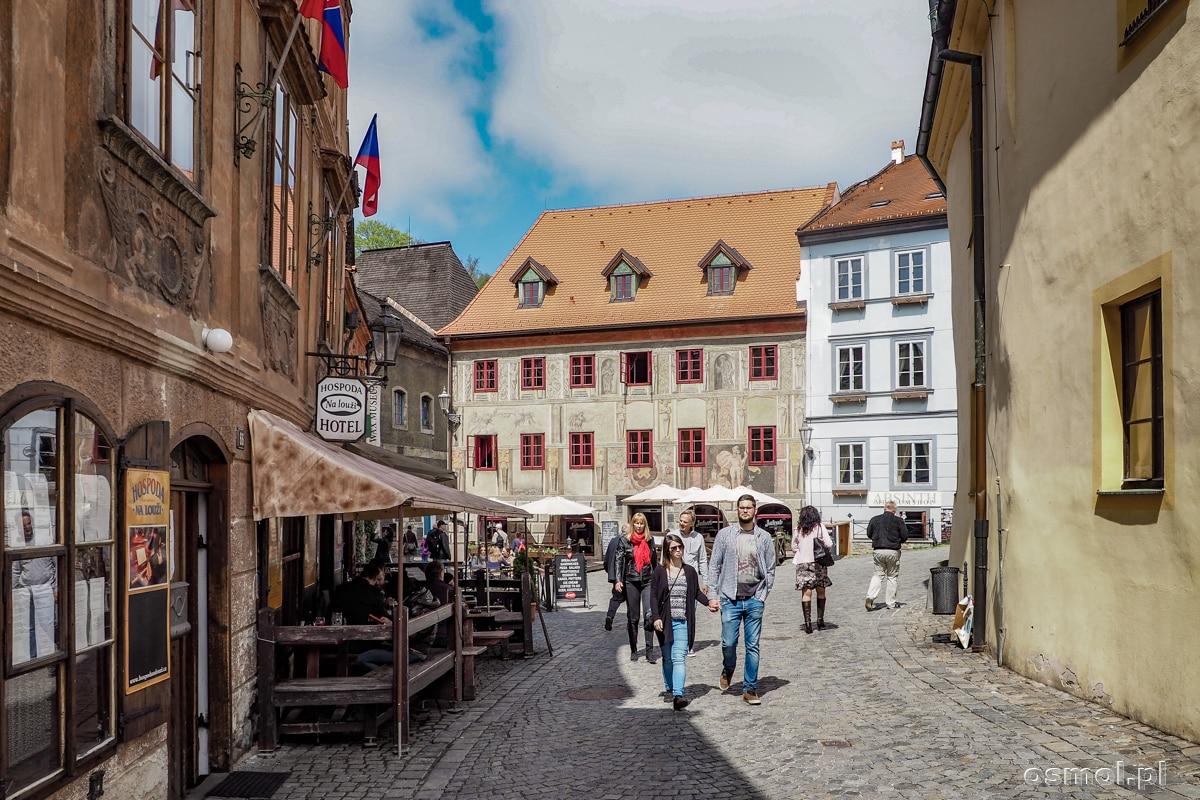 Uliczka w Czeskim Krumlovie