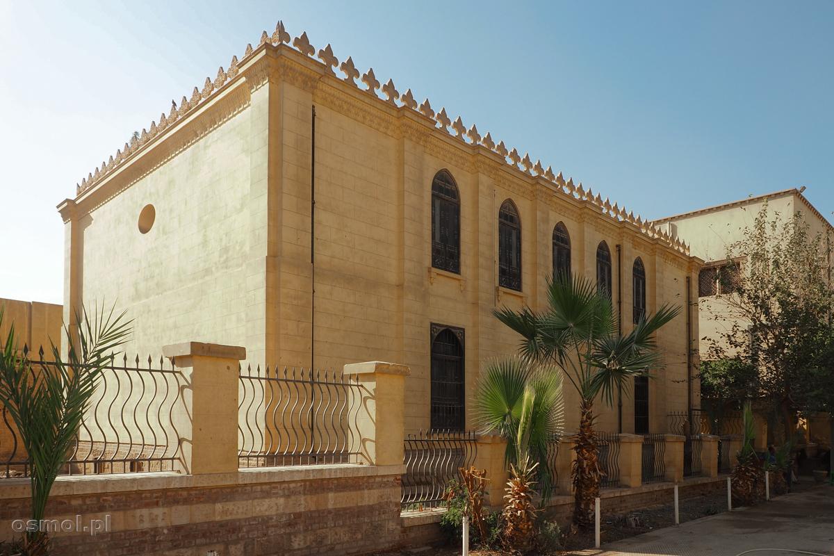Synagoga Ben Ezry w Kairze to jedna z najstarszych synagog w Egipcie