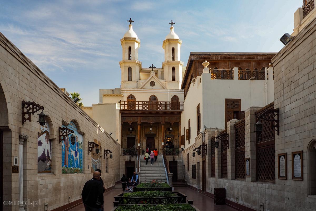 Podwieszany kościół w Kairze