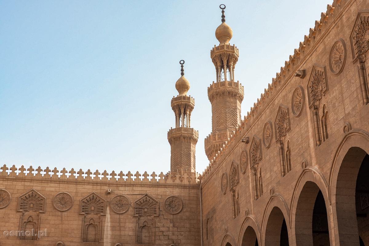 Minarety meczetu Sultan al-Mu'ayyad w Kairze