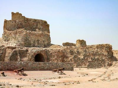 Stary portugalski fort w Hormoz