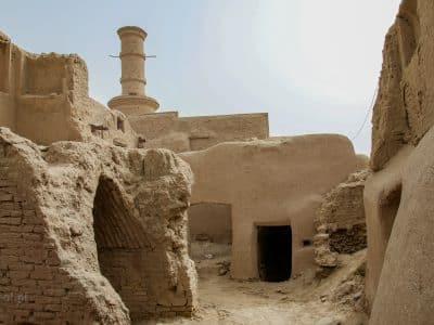 Kharanaq. Opuszczone miasto w Iranie