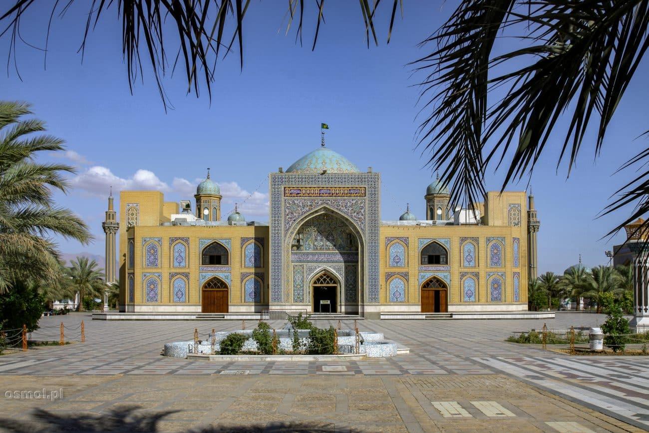 Meczet w Tabas. Iran