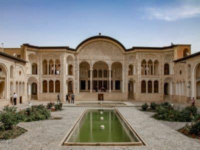 Tabatabaei. Zabytkowy pałac w Kashan