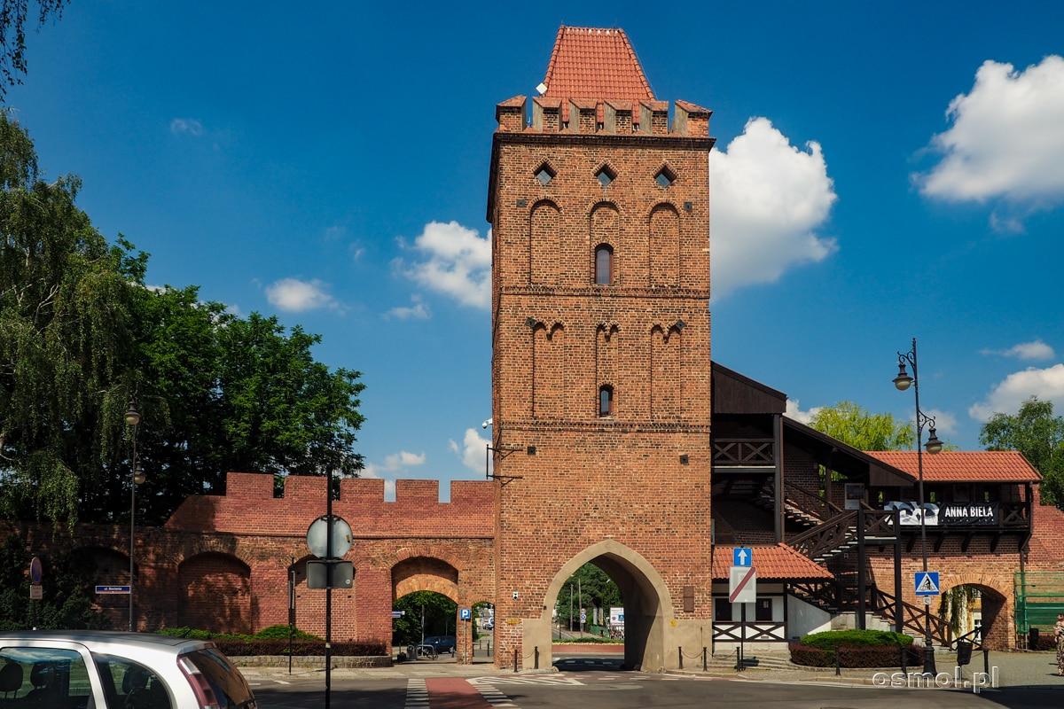 Brama Wrocławska. Jedyne brama, która pozostała z dawnych bram miejskich Oleśnicy