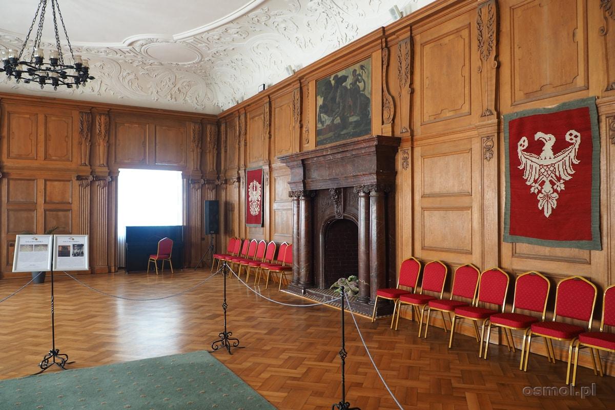 Sala Rycerska na zamku w Oleśnicy
