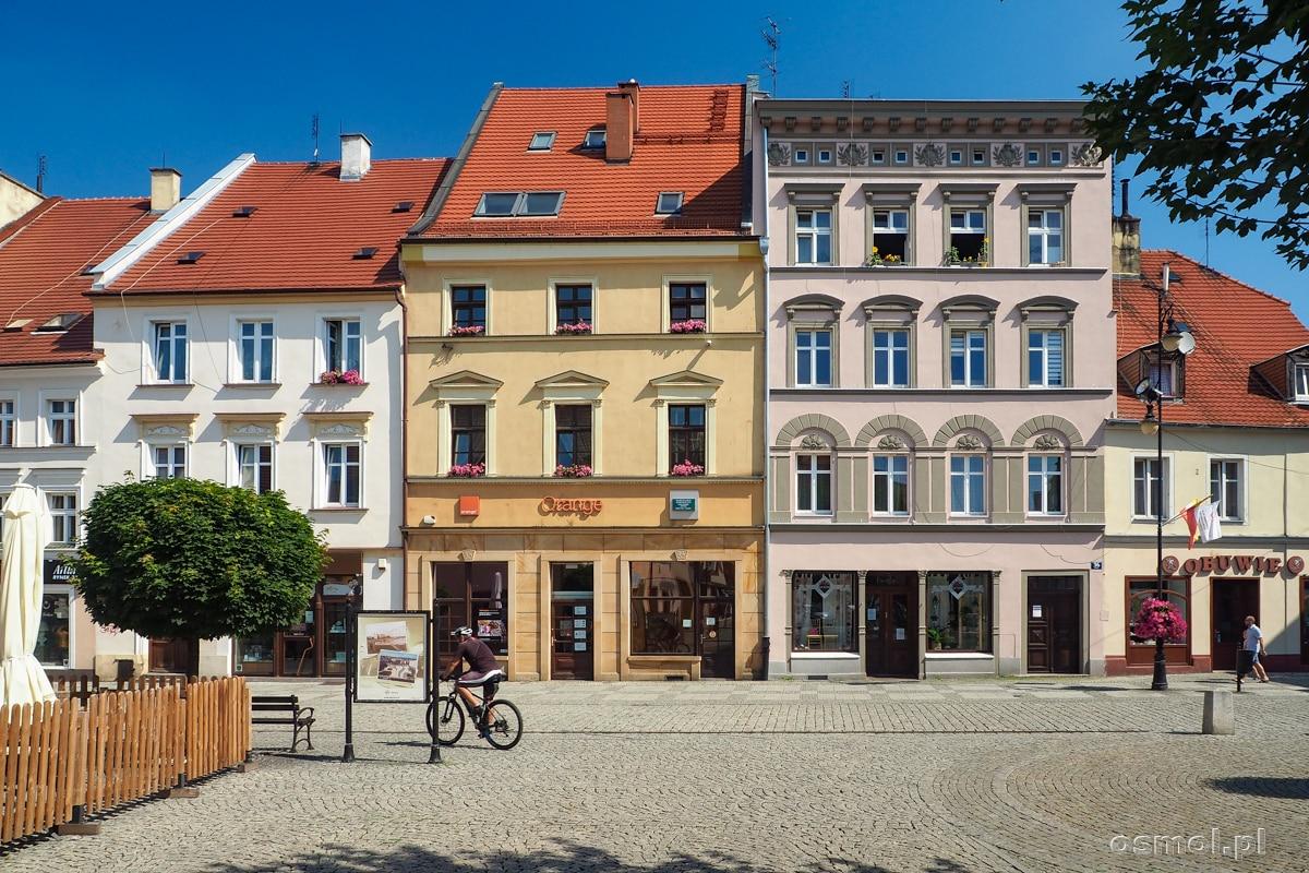 Kamieniczki na Rynku w Oleśnicy
