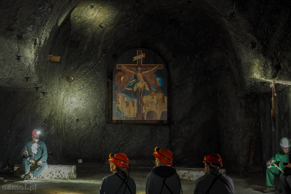 Jedna z kaplic w wielickiej kopalni