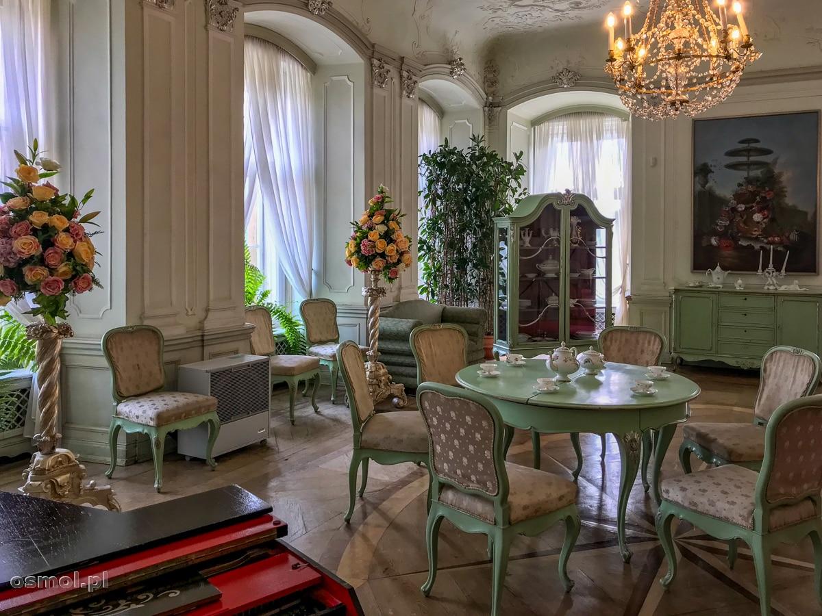 Salon Biały na zamku Książ