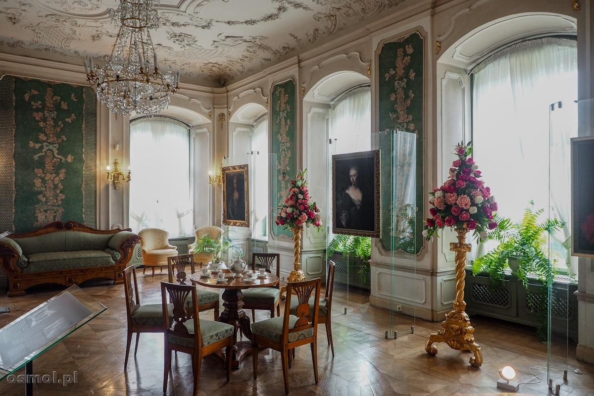 Salon Zielony zamku Książ