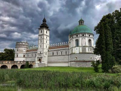 Zamek w Krasiczynie. Siedziba rodu Sapiehów