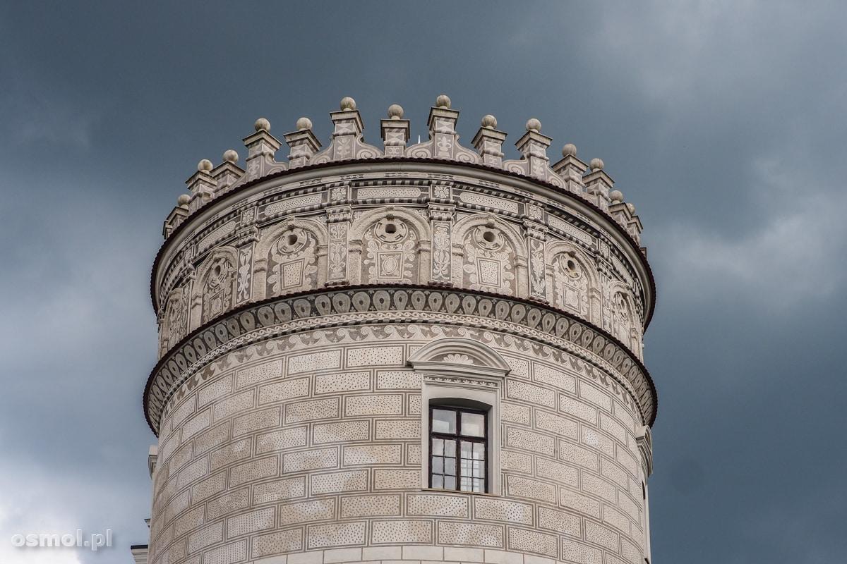Baszta Szlachecka zamku w Krasiczynie