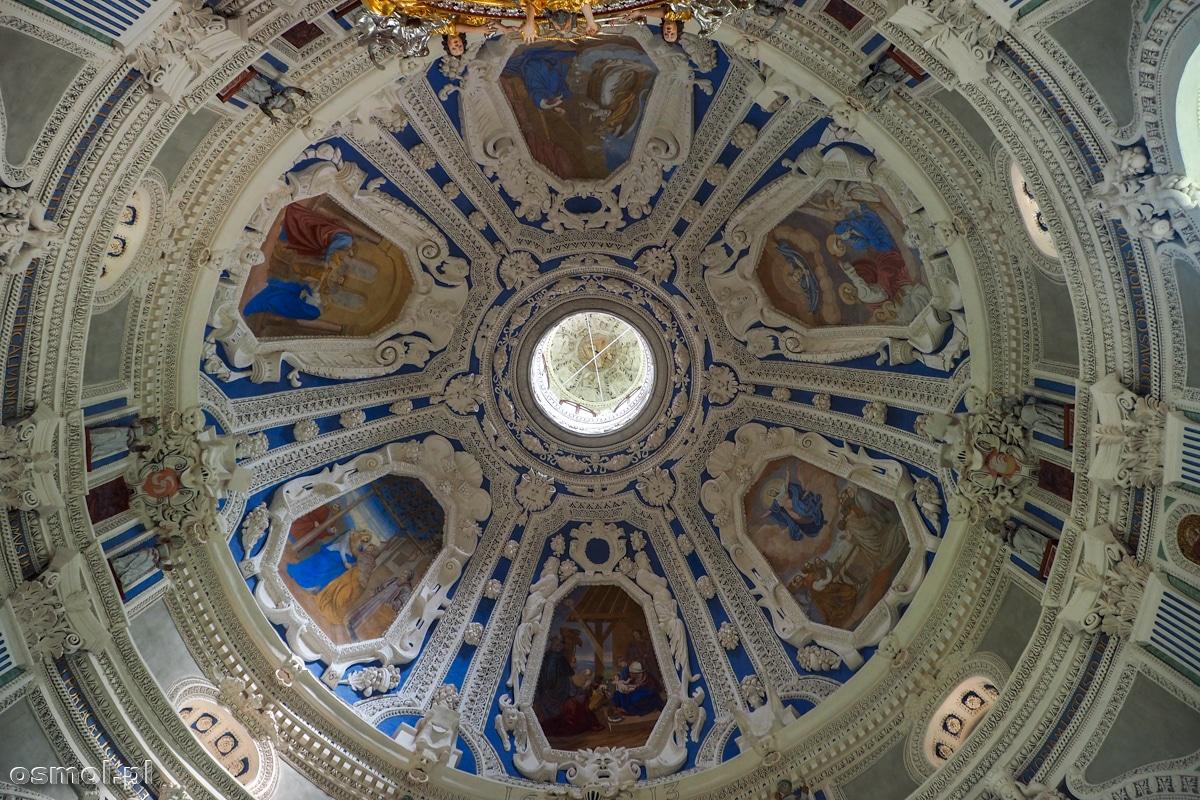 Sufit w kaplicy na zamku w Krasiczynie