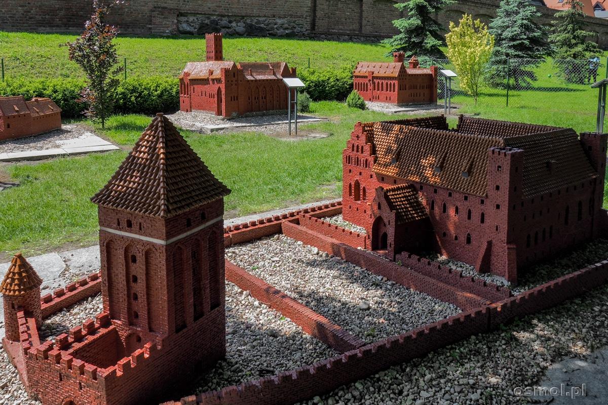 Park miniatur zamków krzyżackich