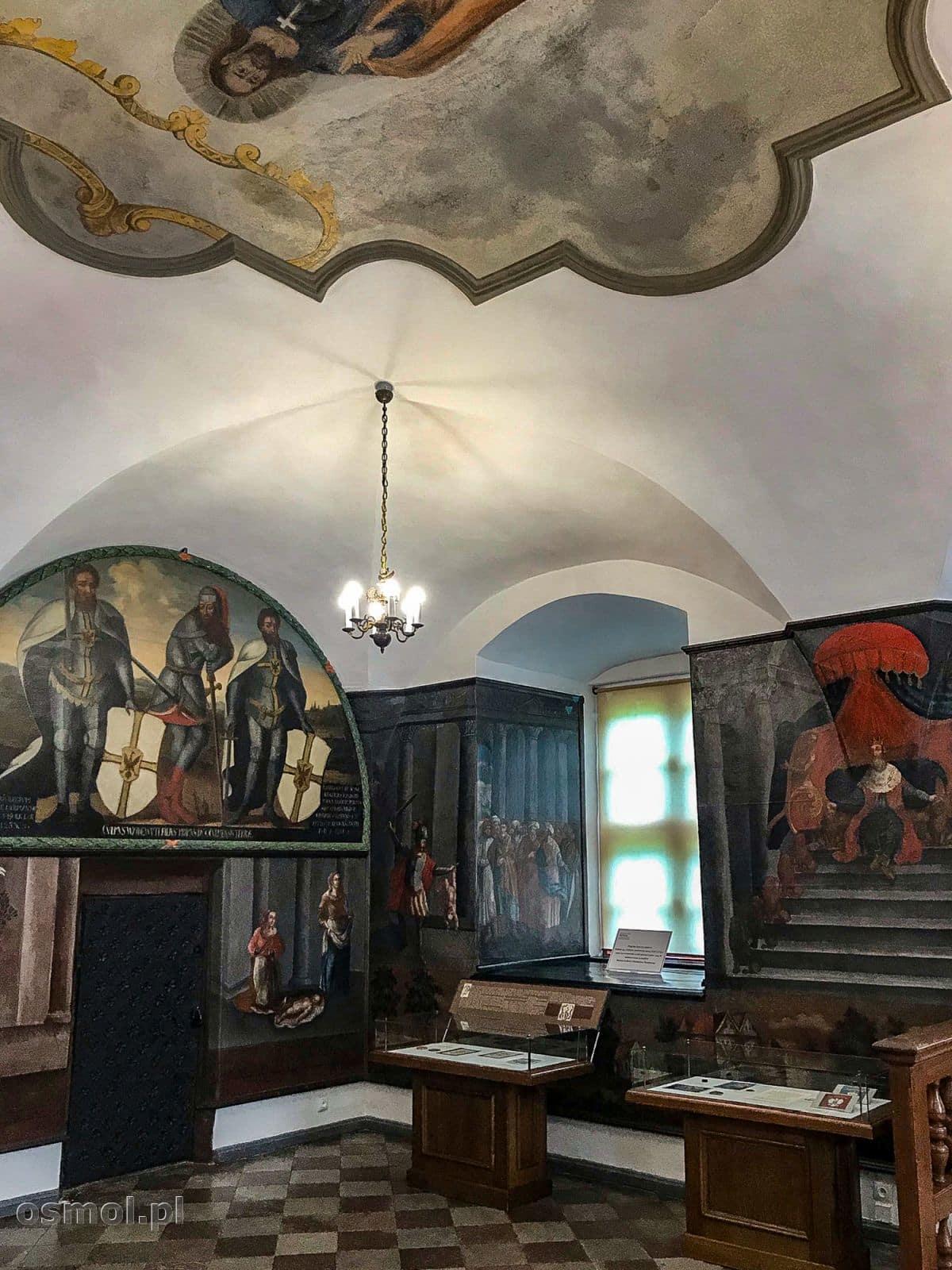 Sala posiedzeń sądu w ratuszu Chełmna