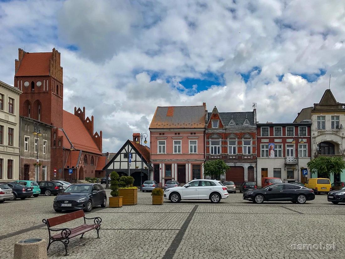 Rynek Miejski w Golubiu-Dobrzyniu