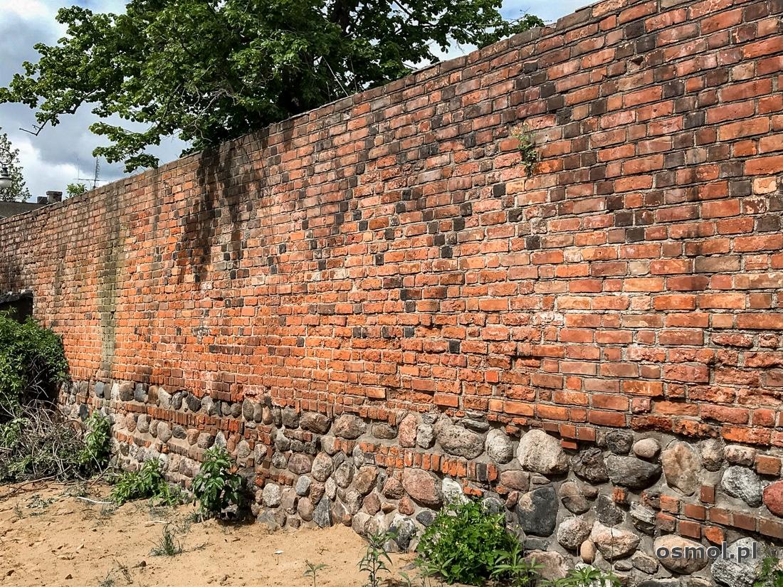 Pozostałości starych murów obronnych