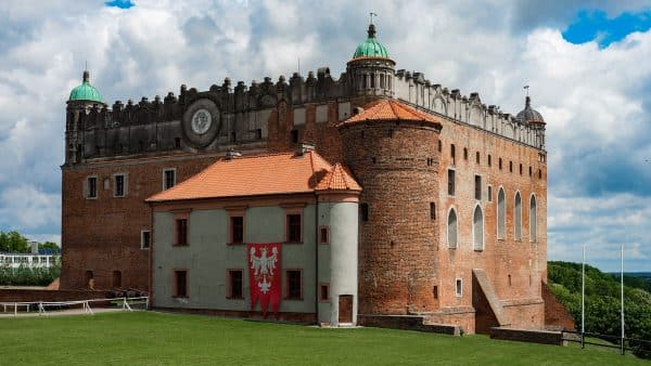 Golub Dobrzyń. Zamek krzyżacki nie przypomina już tego, jakim został zbudowany
