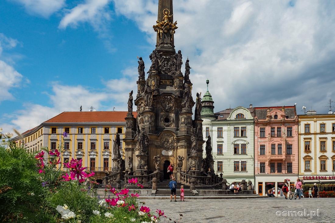 Kolumna Trójcy Świętej to zabytek wpisany na listę UNESCO