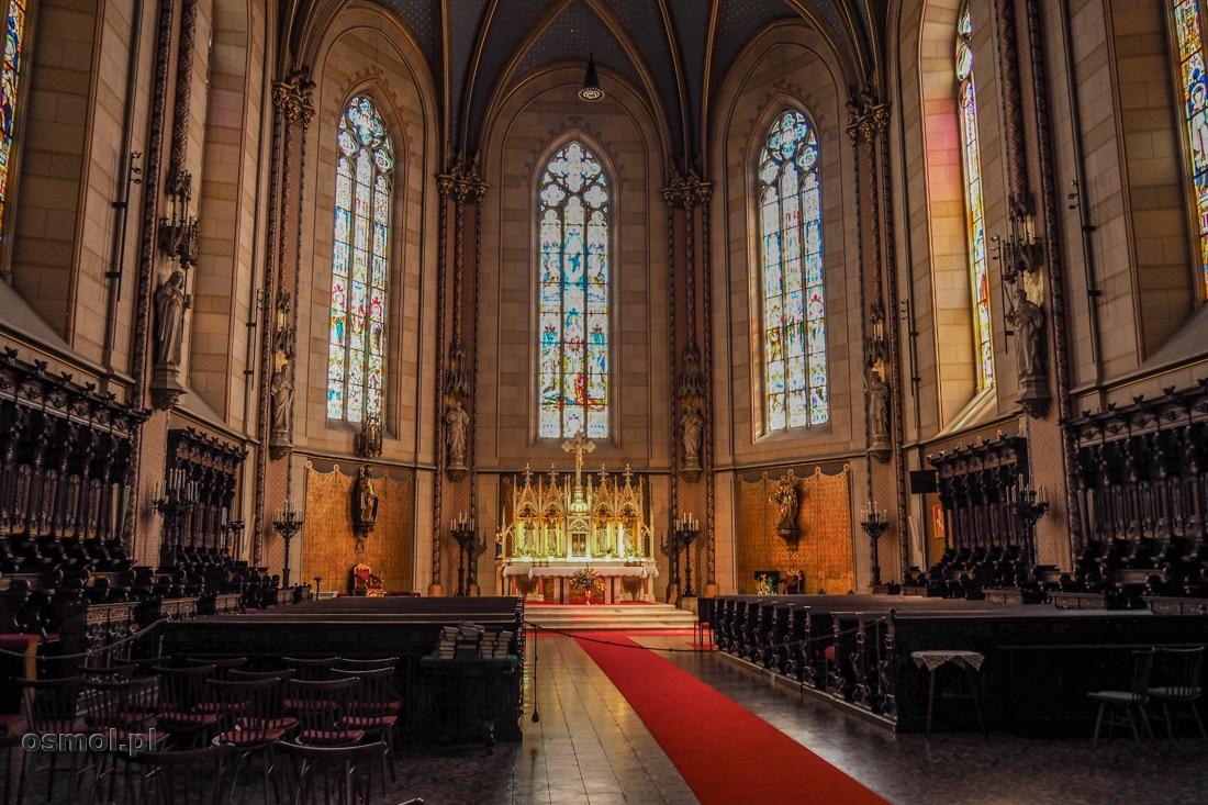 Prezbiterium katedry świętego Wacława w Ołomuńcu