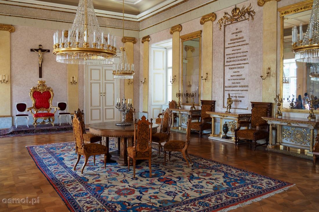 Sala Tronowa w Pałacu Arcybiskupów