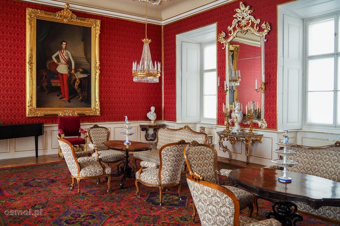 Sala Czerwona w Pałacu Arcybiskupów Ołomuńca