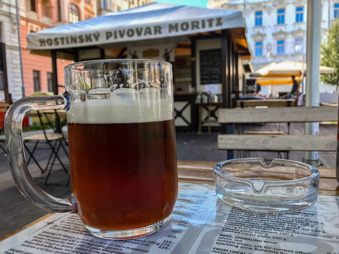 W piwiarni i browarze Moritz można się napić naprawdę dobrego piwa
