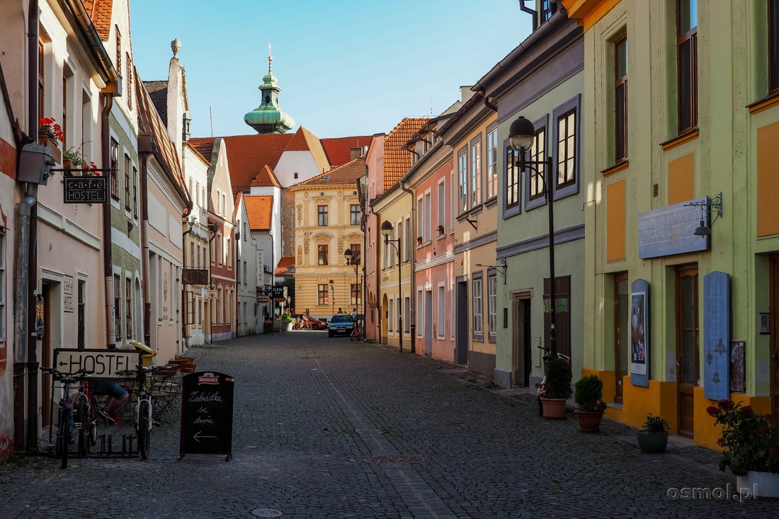 Ulica Pańska. Jedna z najpiękniejszych ulic w Czeskich Budziejowicach