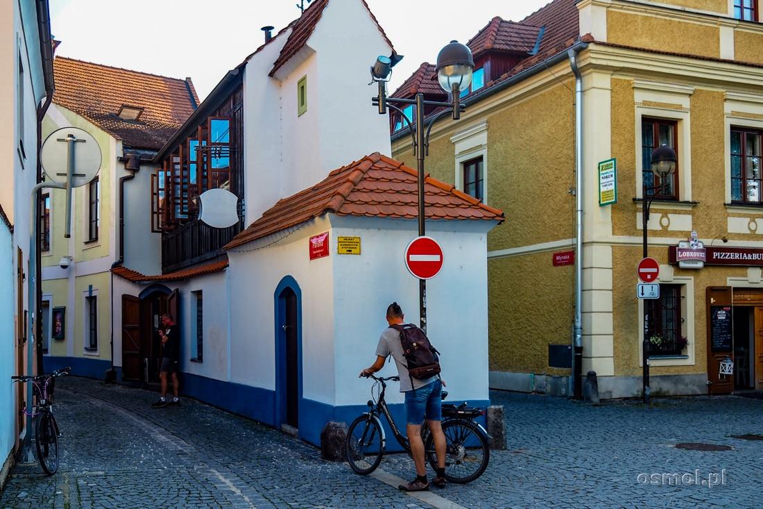 Najwęższy dom w Czeskich Budziejowicach