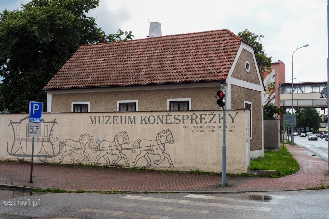 Muzeum kolei konnej w Czeskich Budziejowicach