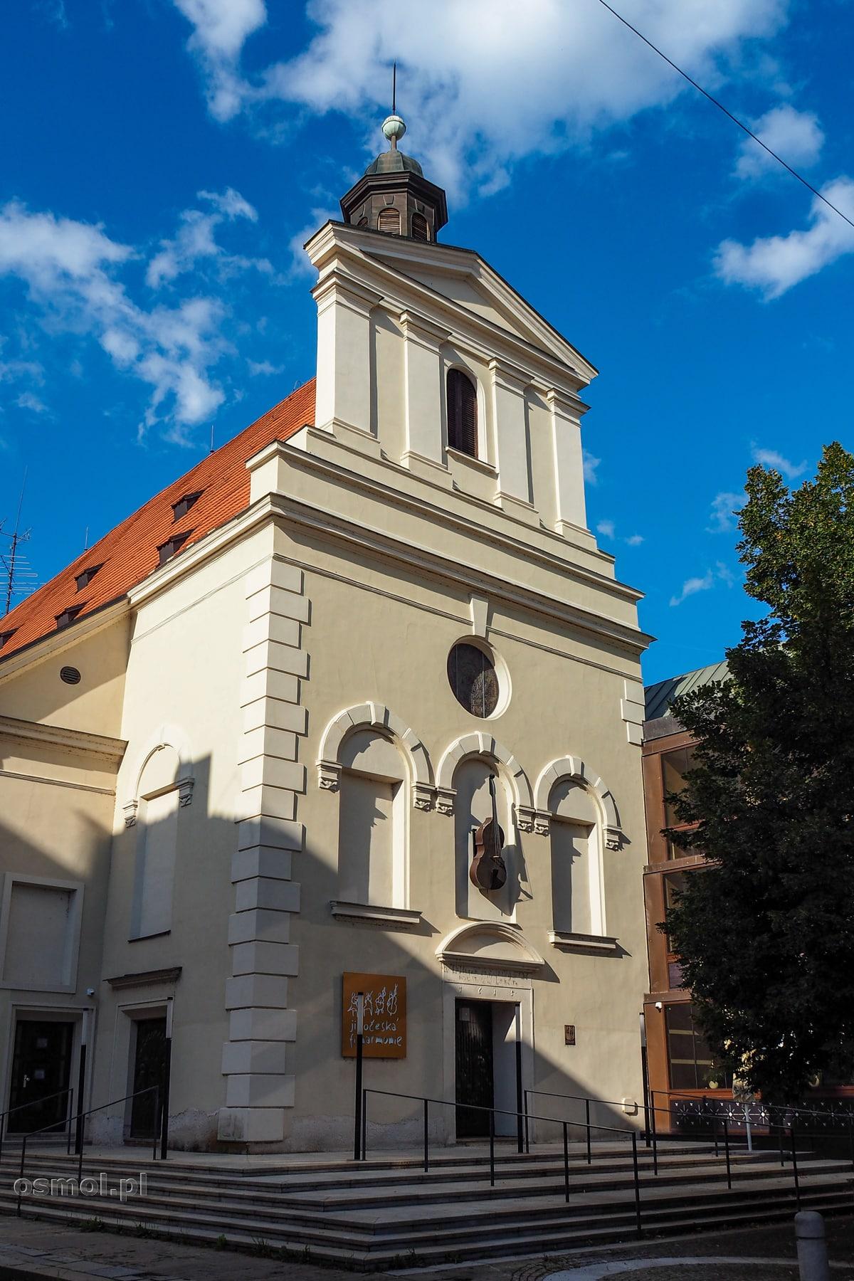Filharmonia w Czeskich Budziejowicach kiedyś była kościołem